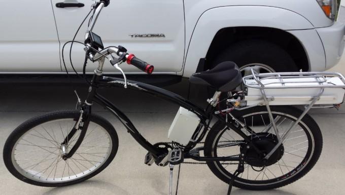 Bike left