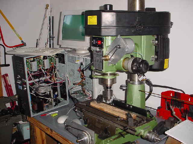 Mill-Drill Conversion | Tom's Institute of Technology